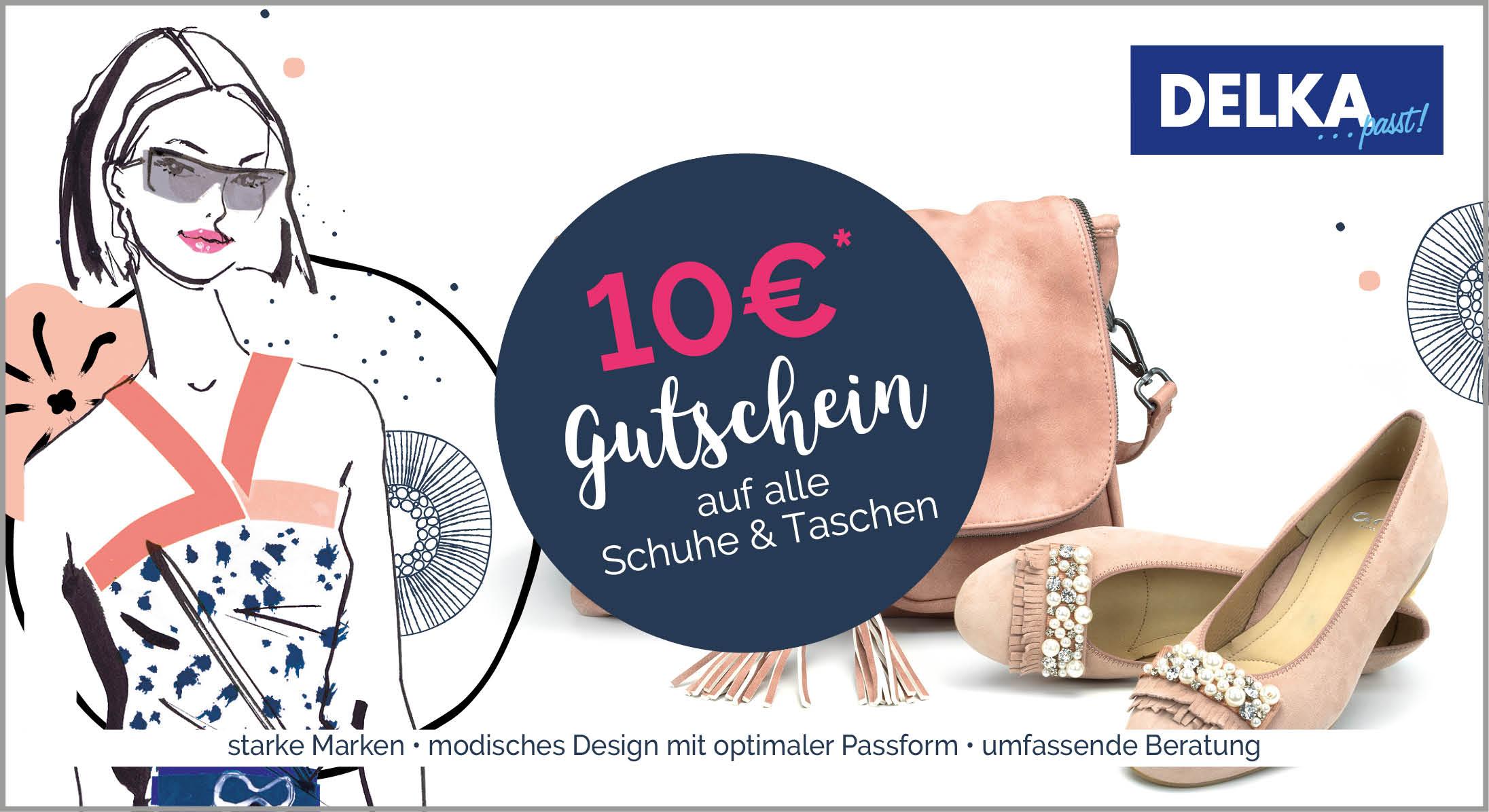 DELKA 10 Euro Gutschein